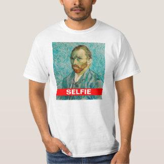 Camiseta de Vincent van Gogh Selfie Playera