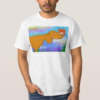 Camiseta de Vizsla 001 Poleras