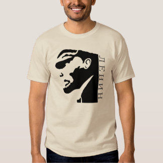 ¡Camiseta de Vladimir Lenin, Ленин! Poleras