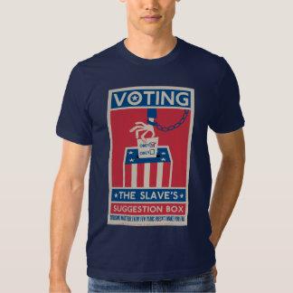 Camiseta de votación camisas