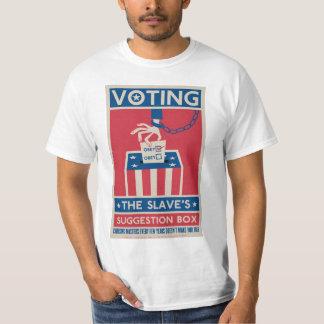 Camiseta de votación playera