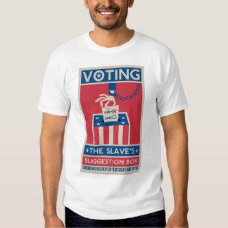 Camiseta de votación polera
