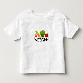 Camiseta de Weegan del niño - luz