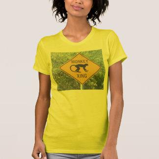 Camiseta de X-ing del mono