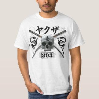 Camiseta de Yakuza con la pantalla Playeras