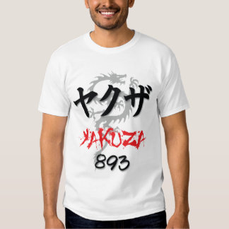 Camiseta de Yakuza Playera