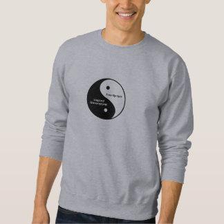 camiseta de yang del yin sudadera con capucha