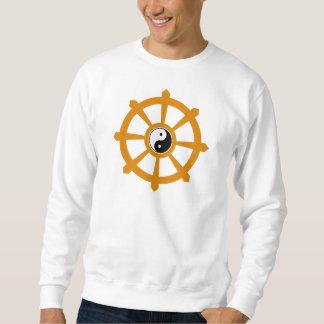 Camiseta de Yin Yang de la rueda de Dharma Jersey