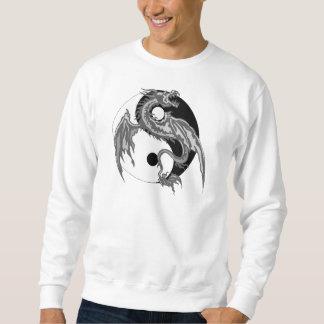 Camiseta de Yin Yang del dragón Suéter