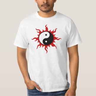 Camiseta de Yin Yang Polera