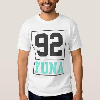 Camiseta de Yuna 92 (luz) Playera
