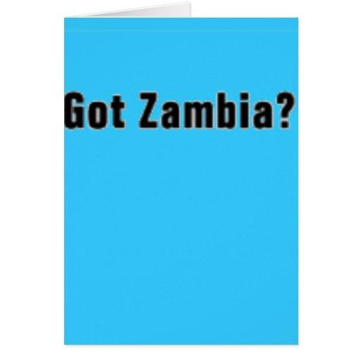 Camiseta de Zambia (conseguida Zambia) y etc Tarjetón