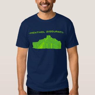 Camiseta de Ziggurat del mentol Remera