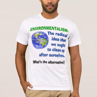 Camiseta definida Environmentalism