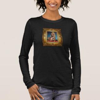 Camiseta del 3/4-Sleeve de las señoras de la reina