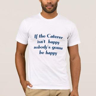 Camiseta del abastecedor
