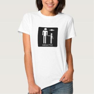 Camiseta del Abductee de la mujer Playera