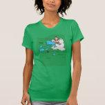 Camiseta del abrigo de la vaca