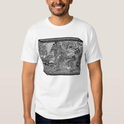 Camiseta del acuario polera