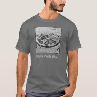 Camiseta del adulto de la cubierta de boca de NYC