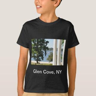 Camiseta del adulto de la ensenada de la cañada