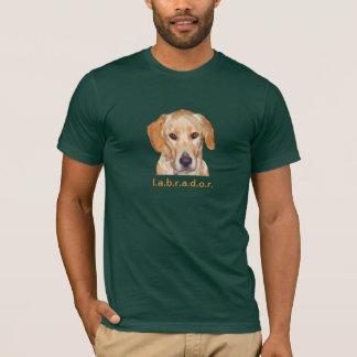 Camiseta del adulto de Labrador