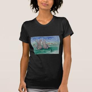 Camiseta del adulto del aceo de Lovin del conejito