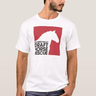 Camiseta del adulto del rescate del caballo de