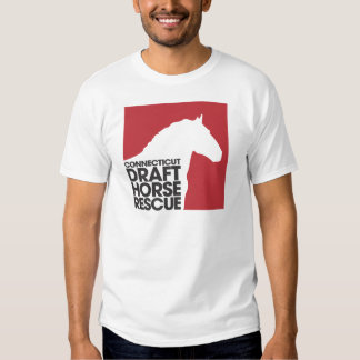 Camiseta del adulto del rescate del caballo de pro playeras
