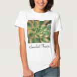 Camiseta del Aeonium del resplandor solar Poleras