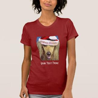 Camiseta del afgano del navidad