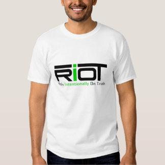 Camiseta del alboroto remera