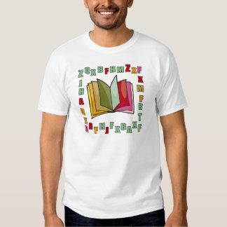Camiseta del alfabeto de los niños remera