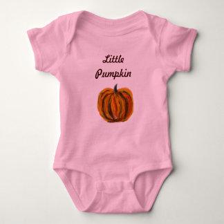 Camiseta del algodón de poco niño de la calabaza camisas