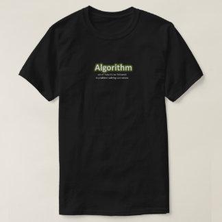 Camiseta del algoritmo remera