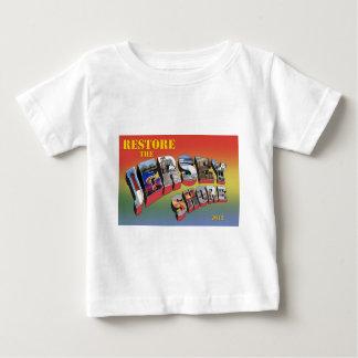 Camiseta del alivio del huracán de la orilla del