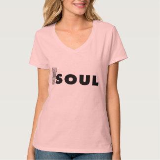 Camiseta del alma playera