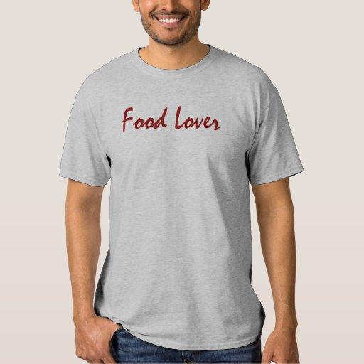 Camiseta del amante de la comida polera