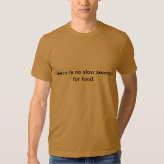 Camiseta del amante de la comida poleras