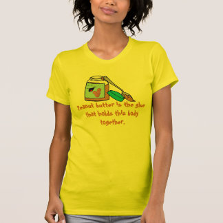 Camiseta del amante de la mantequilla de cacahuete playeras