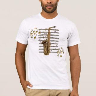 Camiseta del amante de la música del músico del