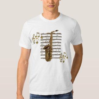 Camiseta del amante de la música del músico del playera