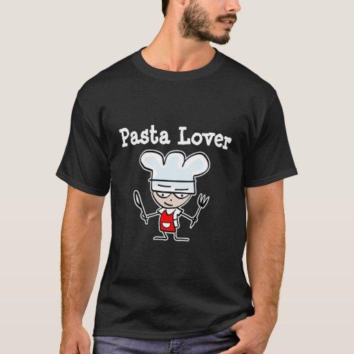 Camiseta del amante de las pastas