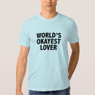 Camiseta del amante de Okayest del mundo Playeras