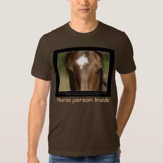 Camiseta del AMANTE del CABALLO Playera