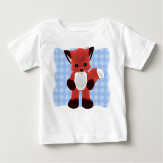 Camiseta del amigo del Fox Toon del bebé