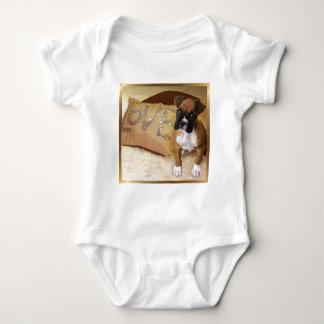 Camiseta del amor adolescente del boxeador camisas