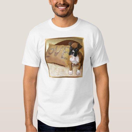 Camiseta del amor adolescente del boxeador playera