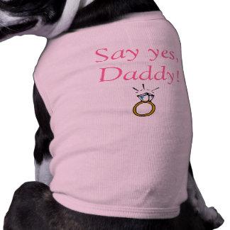 Camiseta del amor adolescente playera sin mangas para perro