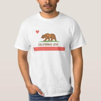 Camiseta del amor de California Remeras